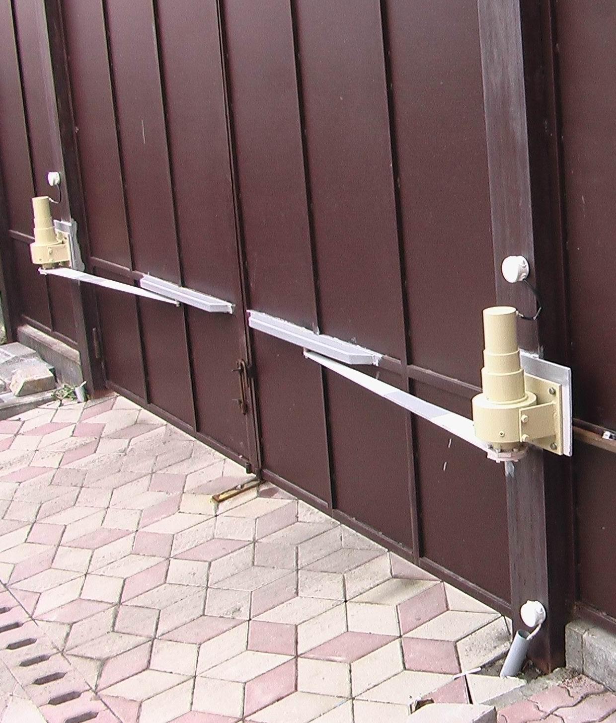Автоматический привод для открывания ворот
